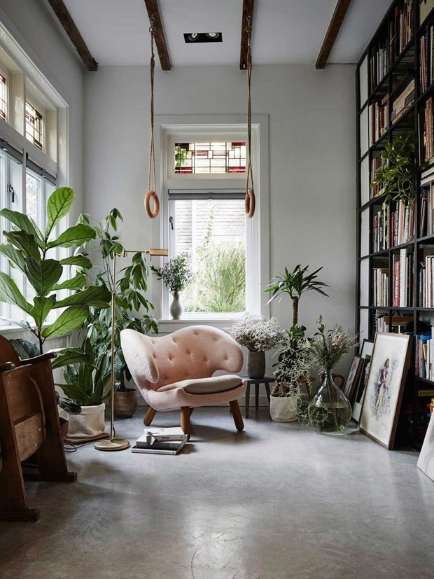 Decorative Concrete Pilacon: Decoração Com Plantas Ideias Para Ter Um Jardim Em Casa