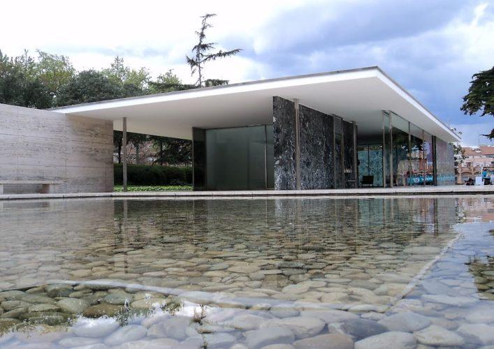 O mestre do minimalismo na arquitetura conhe a a vida e for Casa minimalista de mies van der rohe